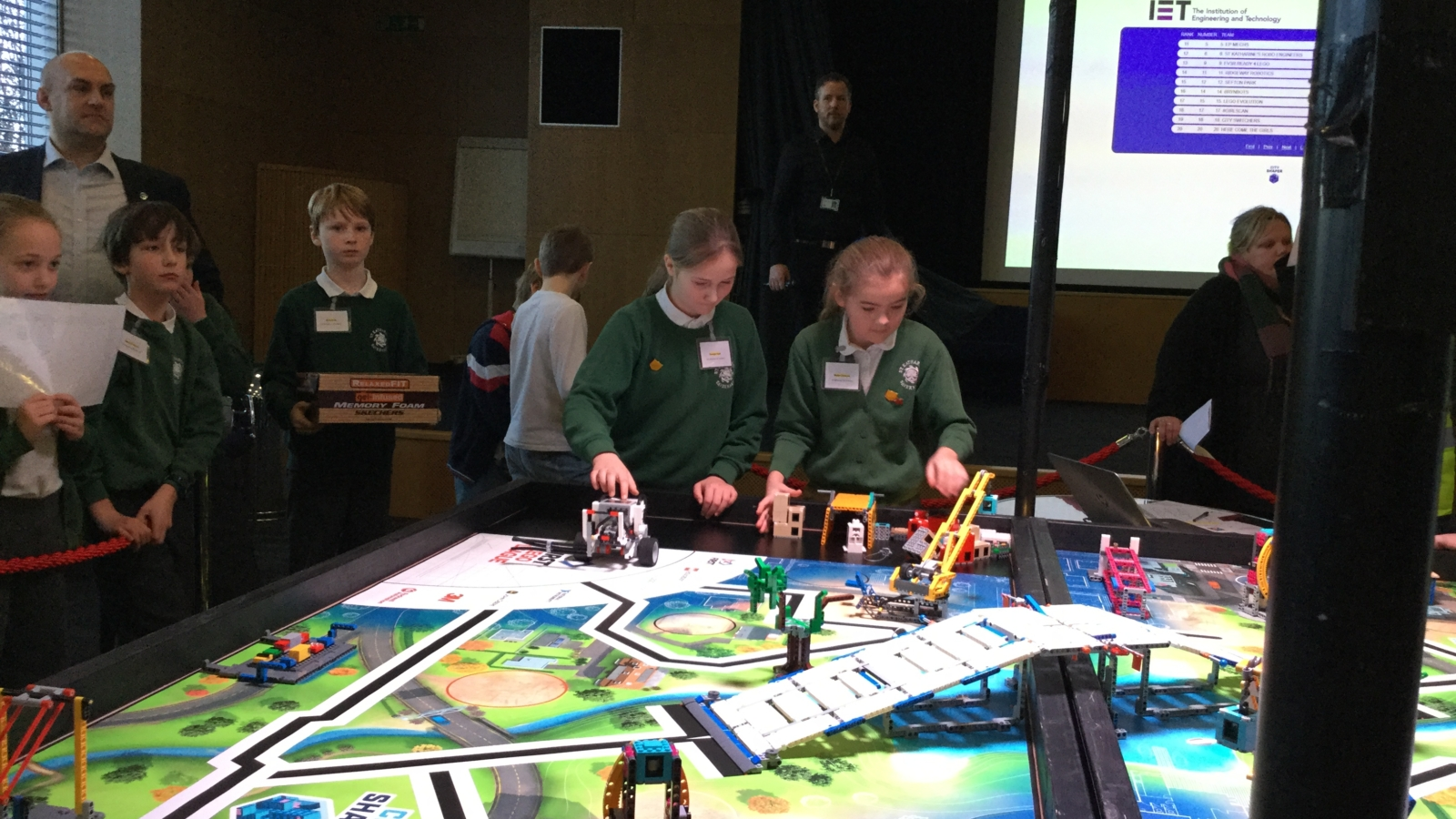 First Lego League competition picture